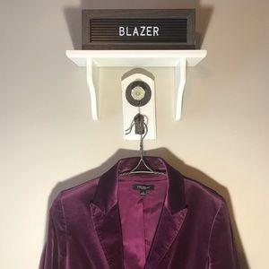 Ann Taylor Velvet Blazer